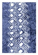 Indigo Primitive Patterns IV