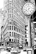 B&W City Scene VII