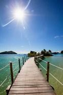 Sun over Likuliku Lagoon Resort, Malolo Island, Mamanucas, Fiji