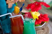 Cocktails, Matangi Private Island Resort, Fiji
