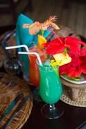 Colorful Cocktails at Matangi Private Island Resort, Fiji