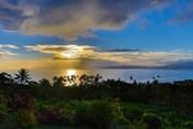 Sunset with Vanua Levu in Background, Fiji