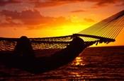 Hammock and Sunset, Denarau Island, Fiji