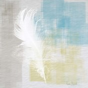 White Feather Abstract I