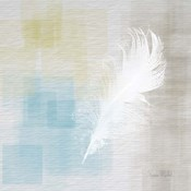 White Feather Abstract II