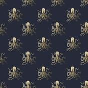 Gold Octopus Pattern