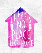There's No Place Like Home-Watercolor