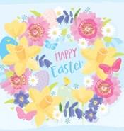 Happy Easter - Flowers