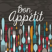 Bon Appetit Cutlery Grey