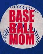 Baseball Mom In Blue