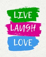 Live Laugh Love-Bold