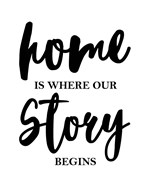 Home Is Where Our Story Begins-Script