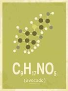 Molecule Avocado Green