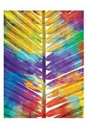 Watercolorful Palms Mate