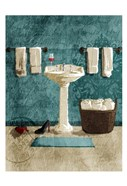 Teal Wine SInk