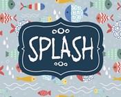Splish and Splash Fish Pattern Blue Part II