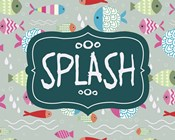 Splish and Splash Fish Pattern Green Part II