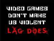 Video Games Don't Make us Violent - Black