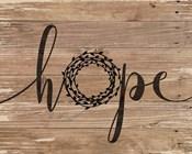 Hope Rustic Wreath
