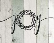 Joy Rustic Wreath II