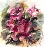 Fuchsia Floral