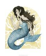 Deco Mermaid III