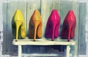 Vintage Fashion Colorful Heels