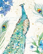 Peacock Garden I