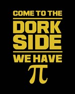 Come To The Dork Side Black