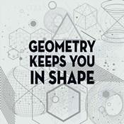 Geometry Keeps You In Shape Light Pattern