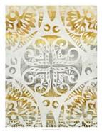 Tapestry Rosette I