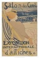 Salon des Cent-Exposition Internationale d'affiches