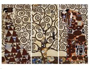 Tree of Life, c.1909  (triptych)