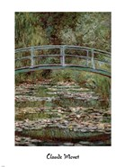 Waterlily Pond, Japanese Bridge