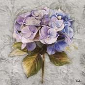 Lavender Flourish Square I