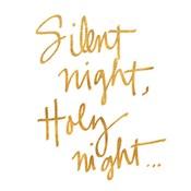 Silent Night (gold foil)