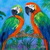 Island Birds Square I