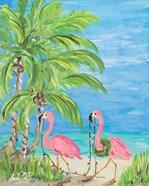 Flamingo Christmas II