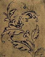 Leaf Scroll II