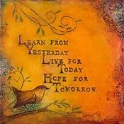 Learn Live Hope I