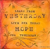 Learn Live Hope II