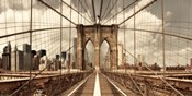 Brooklyn Bridge (sepia)