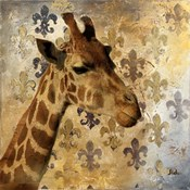 Golden Safari III (Giraffe)