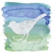 Watercolor Bird 4
