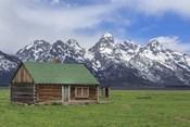 Mormon Row Log Cabin