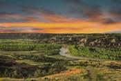 Sunrise At River Bend Overlook