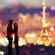 A Date in Paris (detail)