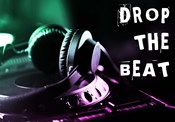 Drop The Beat - Green and Pink