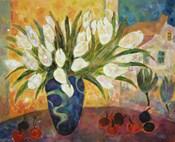 Tulips And Cherries