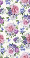 Roses And Hellebore (Pattern)